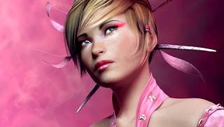 Pink Sugar Girl PSP Backgrounds