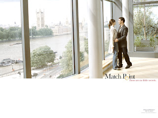Match Point Couple wallpaper