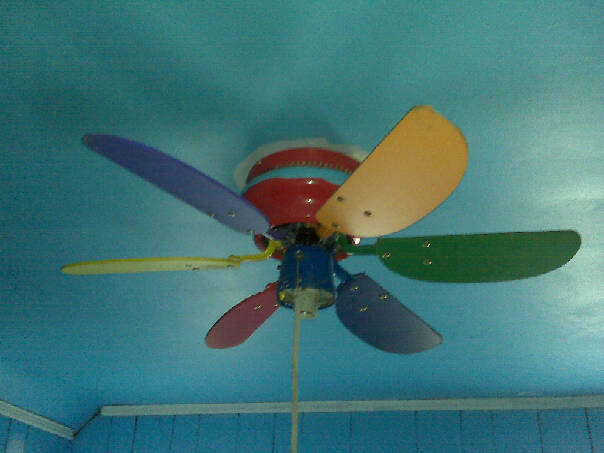 Rainbow Ceiling Fan : The adventures of johnny northside property investors