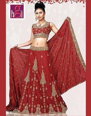 Indian Wedding Dress Style 4