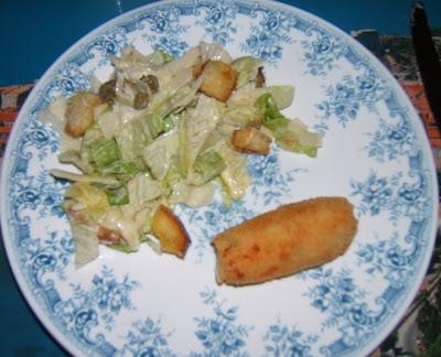 Croquettes de pommes de terre et mozzarella
