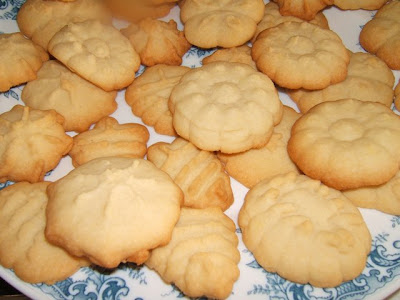 Galletas de mantequilla / Biscuits au beurre