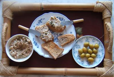 Rilletes (crema para untar) de atún / Rilletes de thon maison