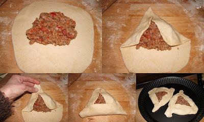 Fatayers de carne (empanadas libanesas)