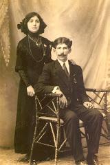 Waldina y José Domench Manjarrez.