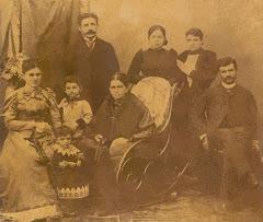 La familia Manjarrez Franco