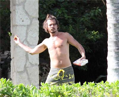 Джонни депп фото голый