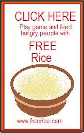 Play Games, Earn Rice, Feed Hungry