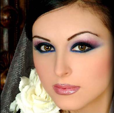 Arabic Makeup on Arabic   Indian Make Up   Blush Off