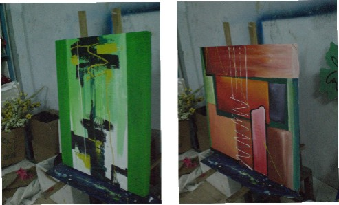 lukisan baru