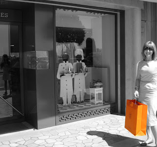outside Hermes in Monte Carlo