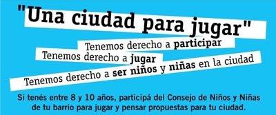"""Tema del año 2009                     """"UNA CIUDAD PARA JUGAR"""""""