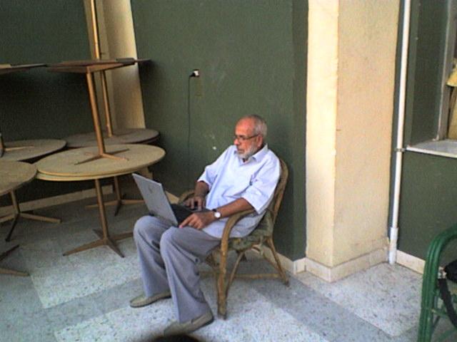 عمر والكيبيوتر