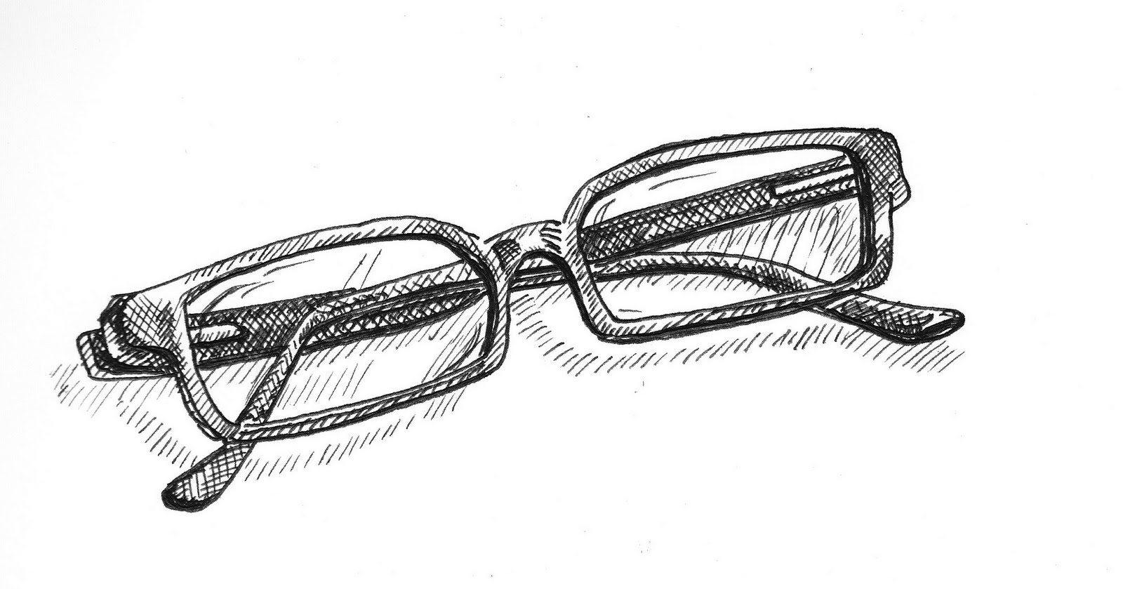 Line Drawing Glasses : Rob s learning exercise an objective drawing