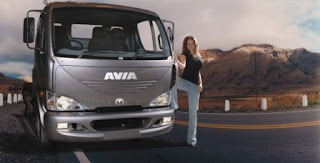 ON THE ROAD WITH THE DELIVERY MAGAZINE: Avia Truck D75