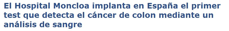 Septin 9 Colon Cancer
