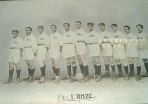 """<b>1921 - Futebol - 1º """"Onze""""</b>"""