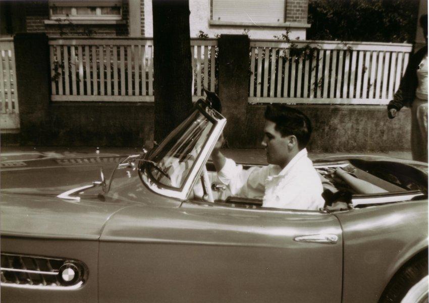 BMW 507 1956