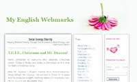 My English Webmarks