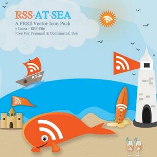 Скачать бесплатно векторный набор rss иконок в формате EPS