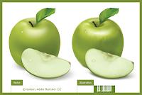 Уроки Adobe Illustrator: рисуем зеленое яблоко с помощью сетчатого градиента