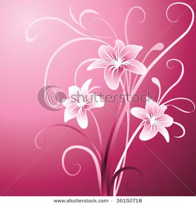 stock illustration: lily