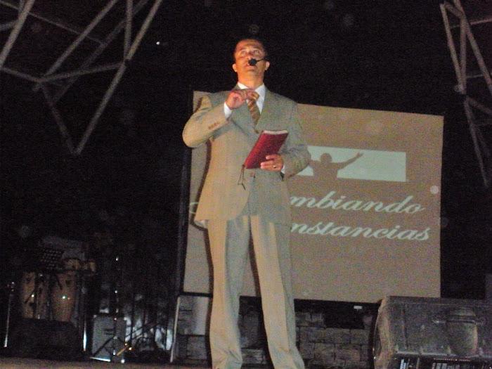 Pr Júnior Montheiro, Pastor de la CCVN - Comunidad Cristiana VIDA NUEVA