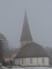 Viby kyrka i slutet av mars