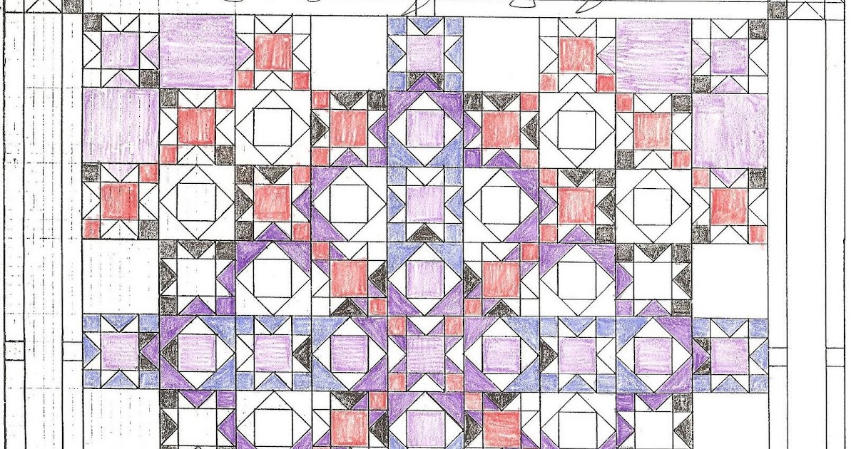 Coloring Pages For Quilt Blocks : Coloring pages for quilt blocks