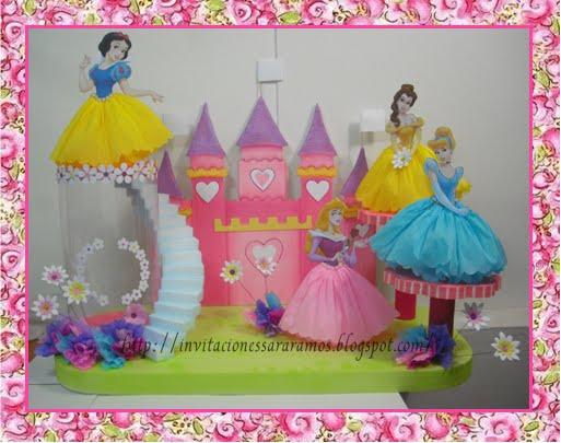 ... Princesas Disney. Invitaciones - Lamparas de Centros de Mesa - Piñata