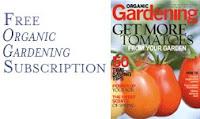 Free Subscription to Organic Gardening!