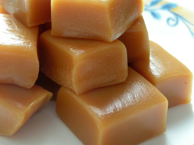 Homemade Caramels: Butter with a Side of Bread