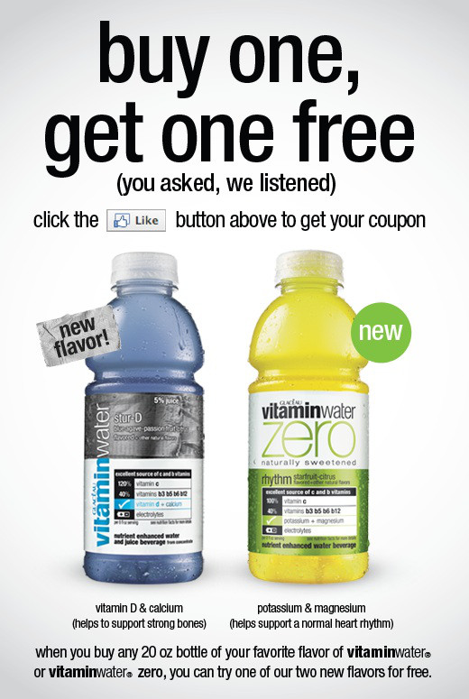vitamin water entry strategy