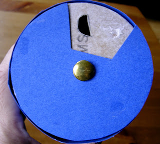 handmade moon phase viewer teaches kids about the phases of the moon