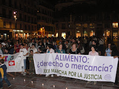 XXII marcha por la justicia. Alimentos: ¿derecho o mercancia?