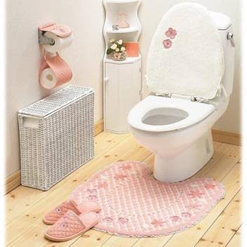 Dress Up Your Toilet - China Home Decor