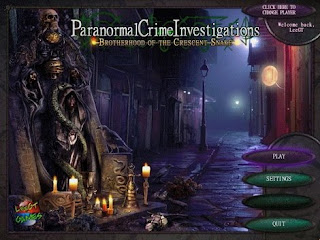Paranormal Crime Investigations Brotherhood of the Crescent Snake [BETA]