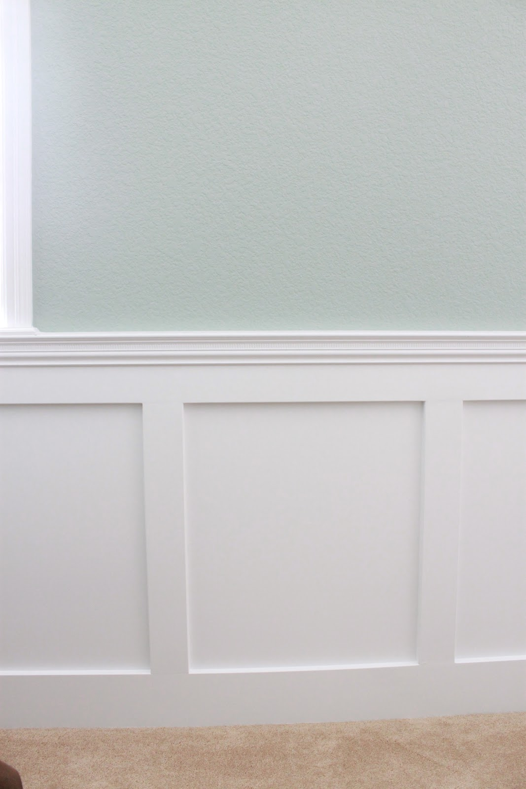 The Sweet Survival Living Room Wainscoting