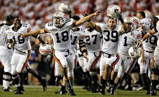 SEC West #1 Auburn Tigers