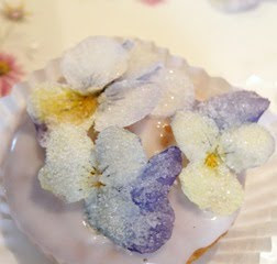 Sugared Flower Tutorial