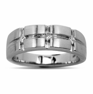 Mens Gold And Diamond Wedding Bands