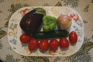 法式蔬菜雜燴材料 Ratatouille ingredients