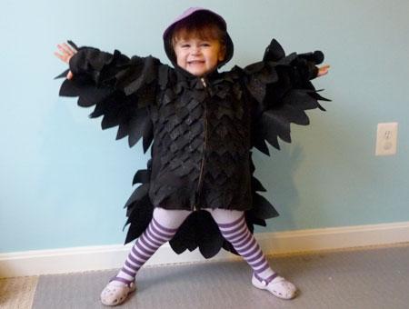 Сшить костюм ворона для мальчика 63