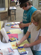 Children Have Fun at Downtown Art Crawl