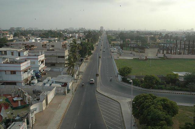 live in karachi city