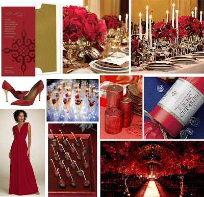 Wedding Wednesday Luxurious Red Gold Wedding