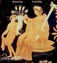 Demeter y Demofonte