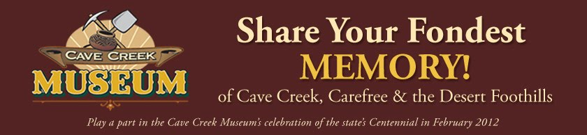 Share Your Memory with the Cave Creek Museum