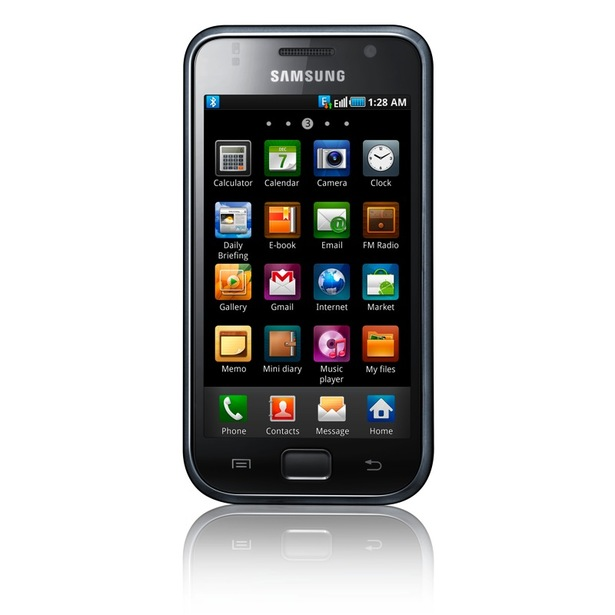 Samsung's Galaxy S Android 2.1 smartphone announced
