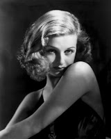 Constance Bennett as you've never seen her before.  Which isn't all that hard, actually.
